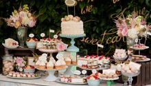 Try a dessert table instead of a traditional wedding cake!