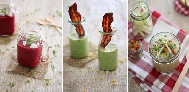 soups, summer, recipes