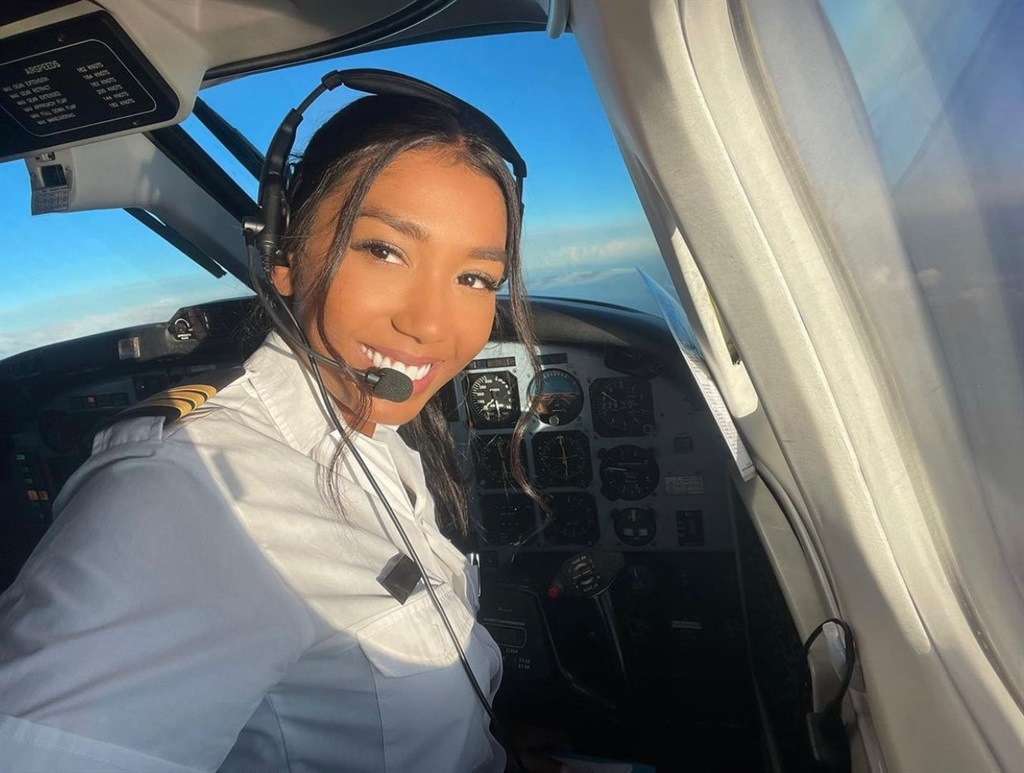 Melissa, also known as pilot_onthegram, has amassed over 11 million followers on TikTok and became the first local pilot to be verified on the app. Image supplied by pilot_onthegram