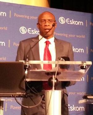 Eskom CEO Tshediso Matona.