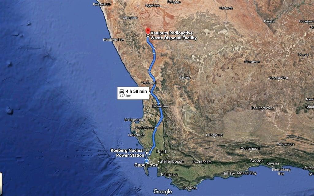 Source Google Maps.
