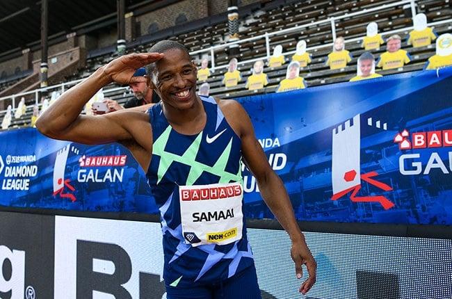 South African long jumper Ruswahl Samaai