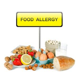 basket of common food allergy ingredients