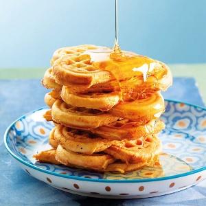 Sugar-free breakfast waffles