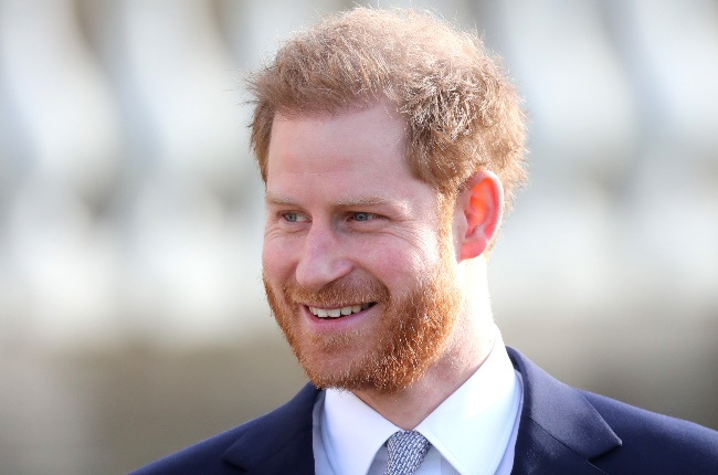 Prince Harry with a happy smile on his face. (PHOTO: GALLO IMAGES/GETTY IMAGES)