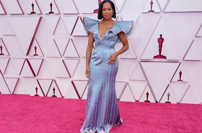 Regina King attends the 93rd Annual Academy Awards. Photographed by Chris Pizzello-Pool