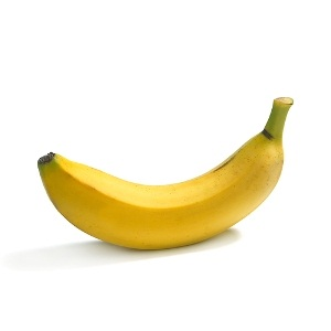 Many men who have a curved penis describe it as looking like a banana