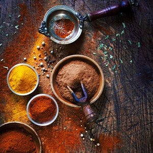 recipes, spices, African