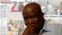 NEWSPAPERS: EFF, back-to-school & Mandelas in court