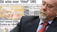 Newspapers focus on Wouter Basson & DA sms victory