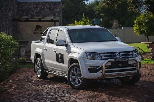 2021 Volkswagen Amarok with SVI's B6 armoured conversion