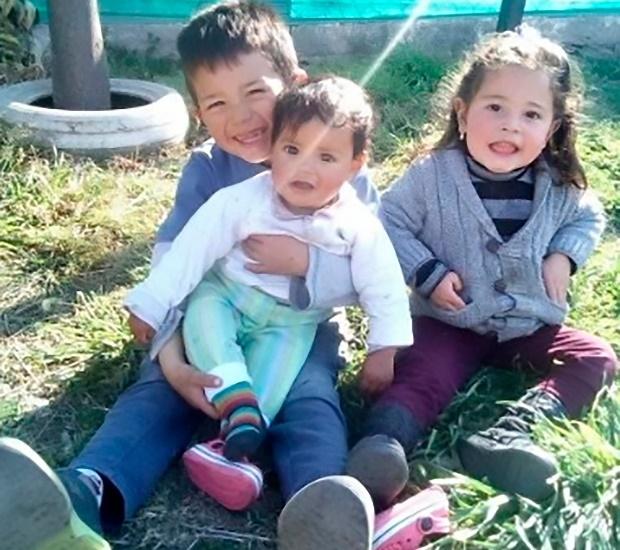 Patricio Zabala and siblings