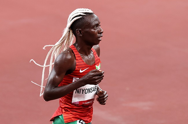 Francine Niyonsaba. (Photo by Cameron Spencer/Getty Images)