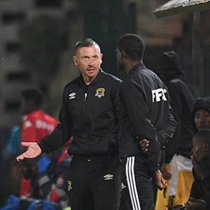 Black Leopards head coach Alan Clarke.