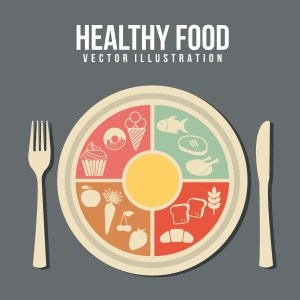 Healthy food from Shutterstock