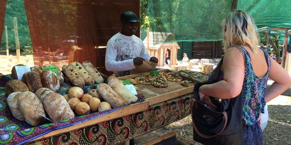 market, artisanal fare