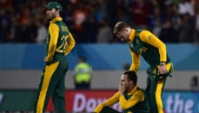'Gutted' Proteas featured on today's newspaper front pages