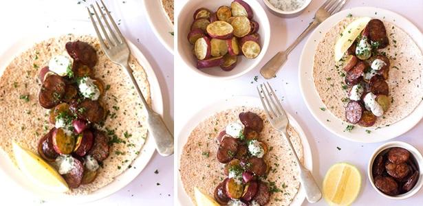 recipes,potato, sausage
