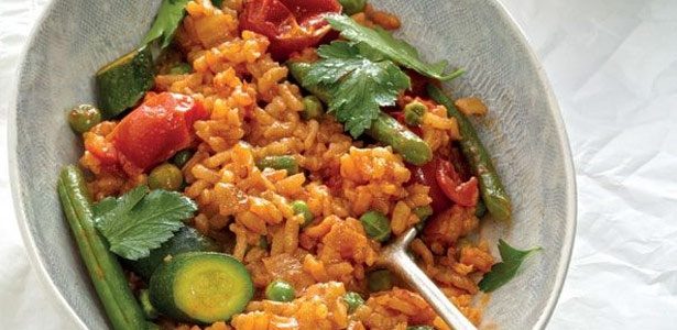vegetarian, rice, easy, quick