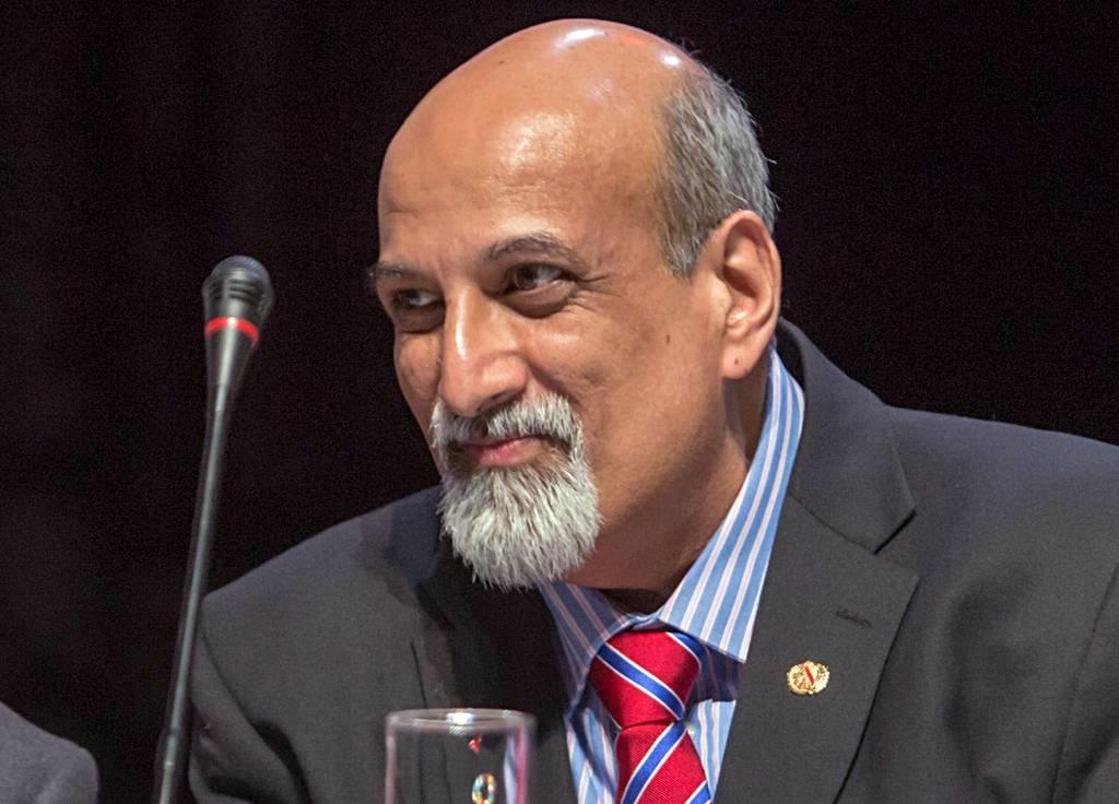 Professor Salim Abdool Karim.