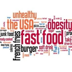 Unhealthy food from Shutterstock