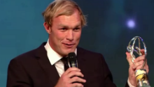 WATCH: Schalk scoops Laureus Comeback of The Year Award