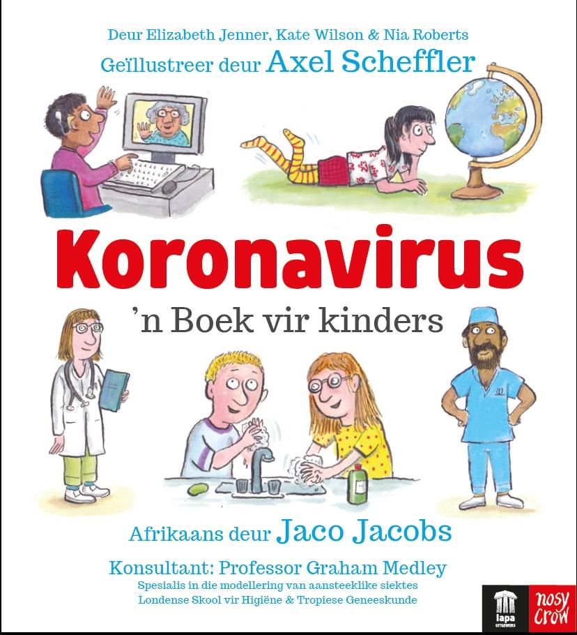 'Koronavirus: 'n Boek vir kinders' is gratis op La