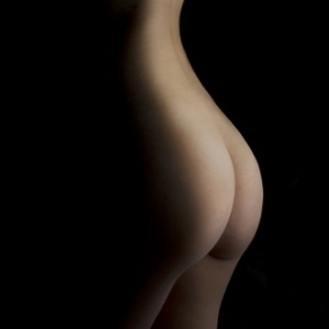 Curvaceous backside from Shutterstock