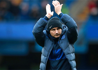 Frank Lampard tells Chelsea to embrace Champions League pressure