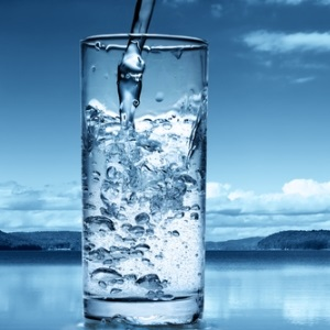 Glass of water from Shutterstock