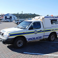 Police van (Supplied)