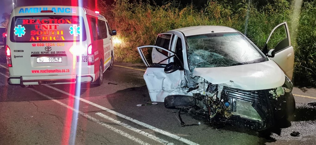 One person was killed and two others injured following a head-on collision on Old Main Road in Durban.