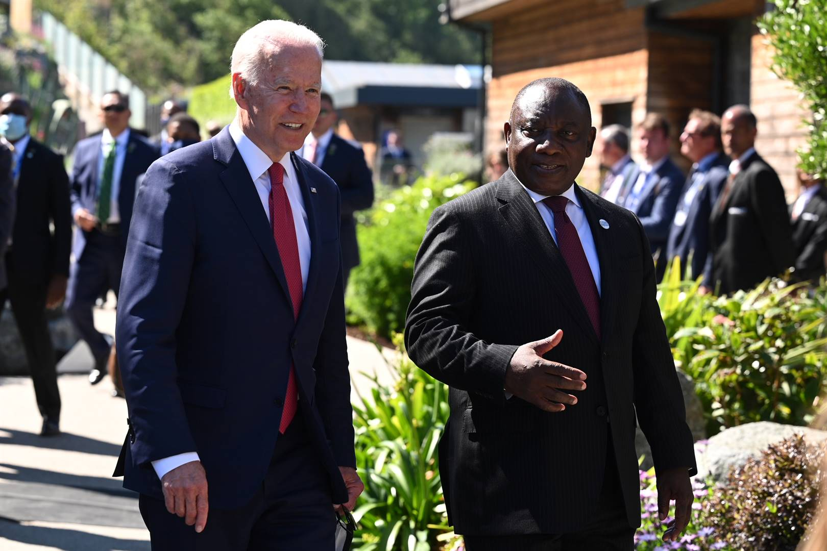 Ramaphosa: Biden has agreed to channel Pfizer vaccine donations to SA 'as soon as possible' | Fin24