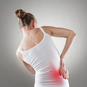 Woman with coeliac disease and nerve damage