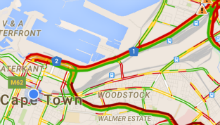 Why has Cape Town traffic been so bad lately?