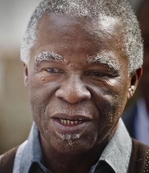 Former president Thabo Mbeki (Nelius Rademan, Netwerk24)