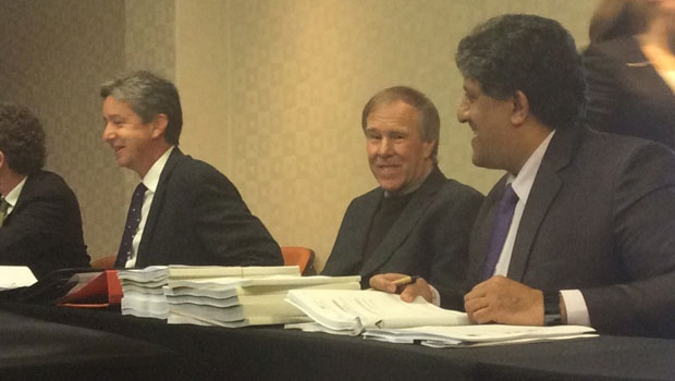 Noakes at the hearing. Photo by News24's Jenna Etheridge. <br />