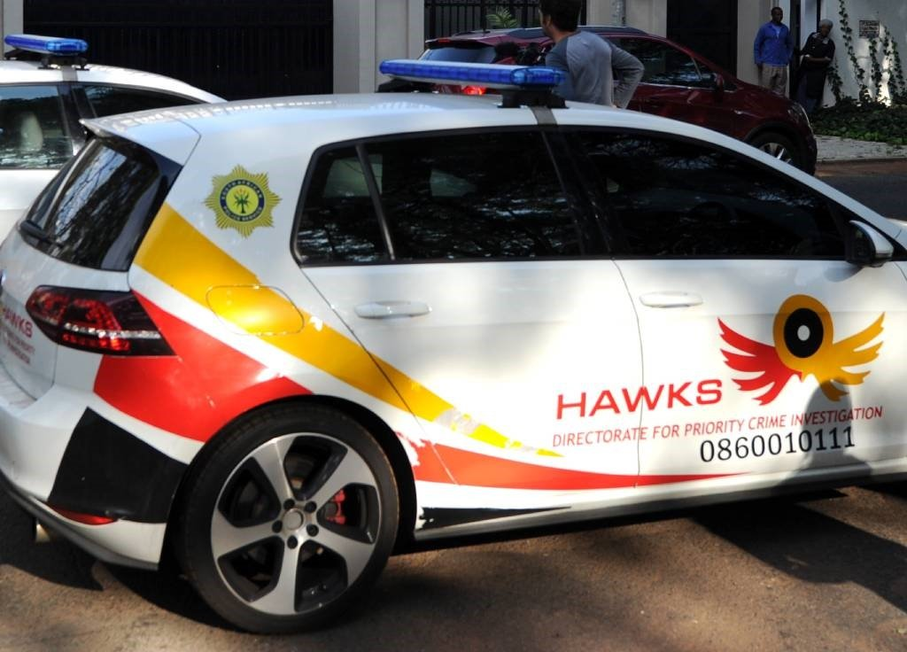 Two suspects have been arrested after allegedly impersonating Hawks officers and attempting to solicit a R50 000 bribe.