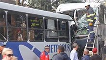 WATCH: Zoo Lake bus crash passengers share harrowing details