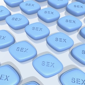Blue pills from Shutterstock