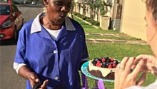 This Joburg woman is touching lives... with cake. Watch!