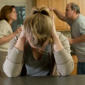 teenager depressed over parents divorce