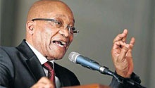 NEWSPAPERS: Zuma says Africa must take responsibility for xenophobia too