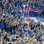 Iceland fans perform ultimate 'Viking war chant'