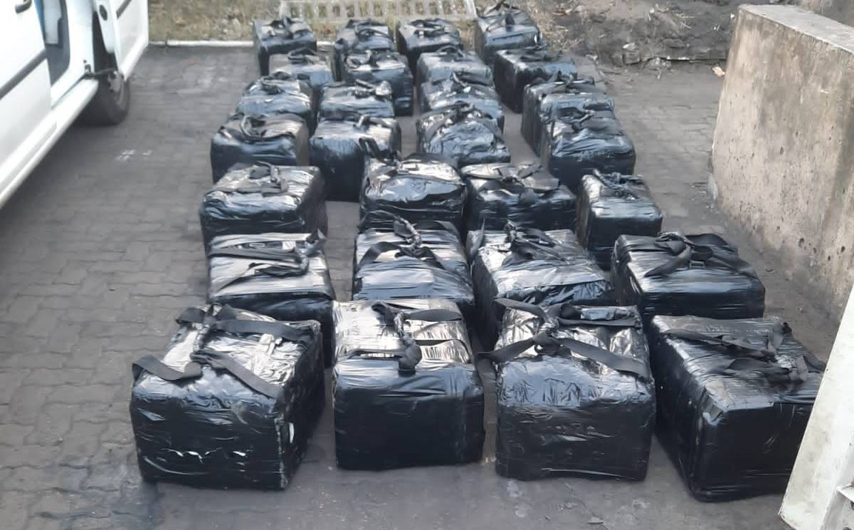 Police confiscated drugs worth R500 million at the Durban harbour.