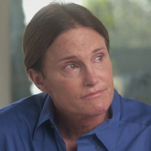 Bruce Jenner in his interview with Diane Sawyer