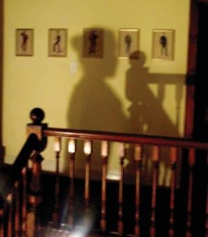 Shadows play tricks on the mind in the Nottingham Road Hotel.