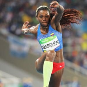 Columbia's Caterine Ibarguen: Rio 2016 gold medallist and high flyer.