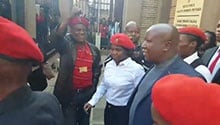 EFF remains unshaken - Julius Malema