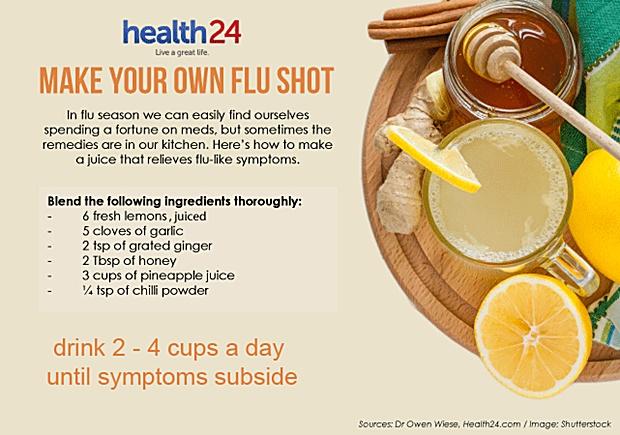 make your own flu shot